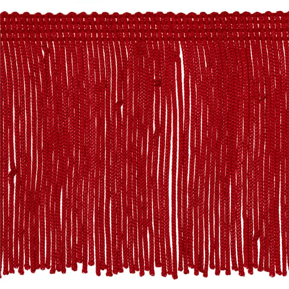 Expo 3'' Chainette Fringe Red