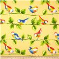 Richloom Solar Outdoor Curious Birds Soleil