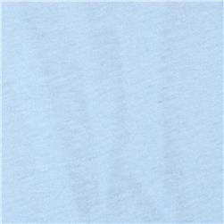 Cotton Jersey Knit Powder Blue