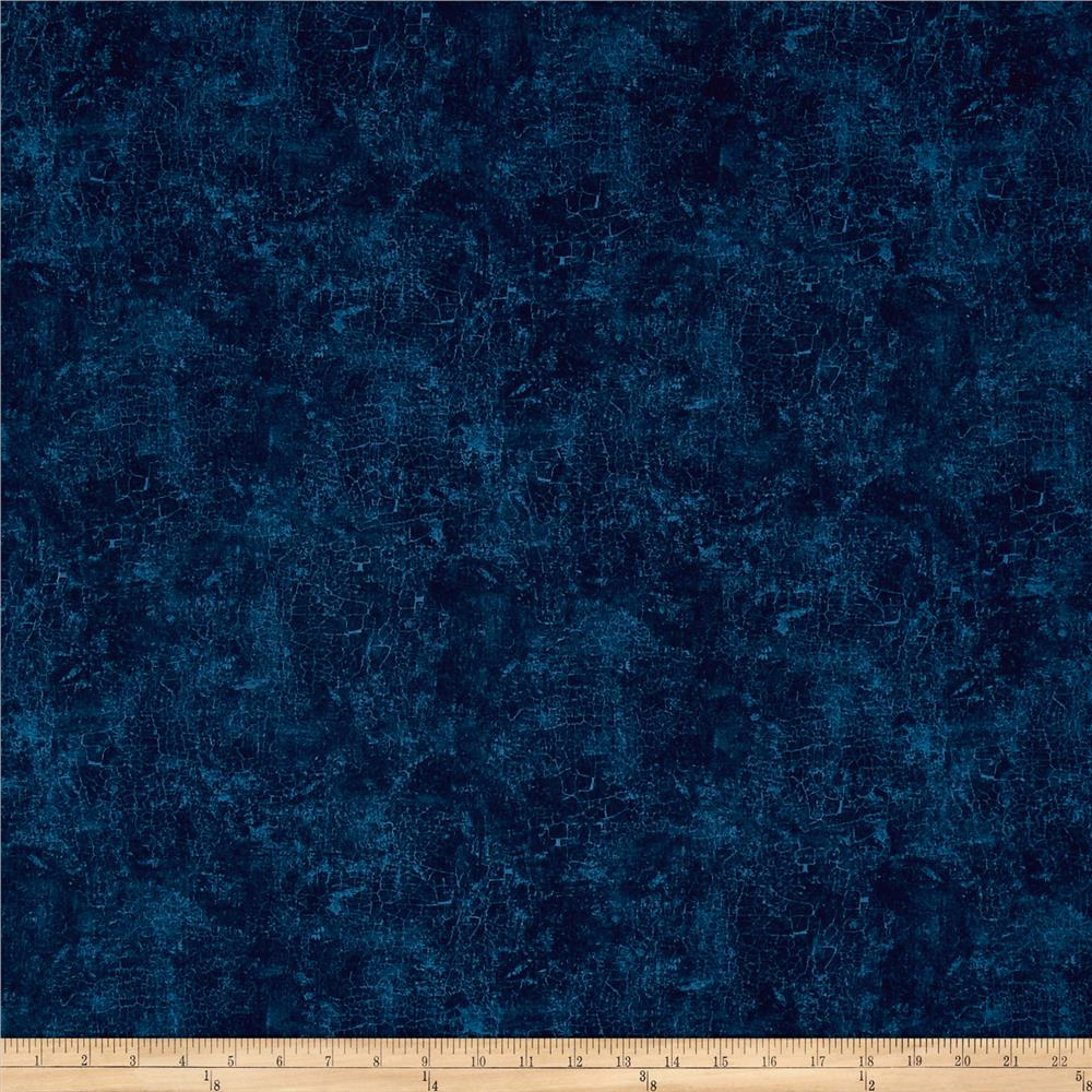 wilmington essentials crackle navy discount designer fabric. Black Bedroom Furniture Sets. Home Design Ideas