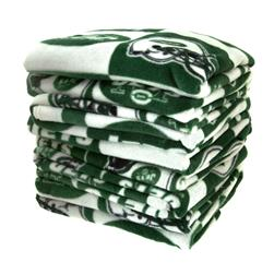 Three Pound NFL Fleece Remnant Bundle New York Jets