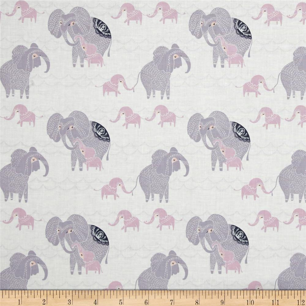 Dear Stella Dreamscape Elephants White