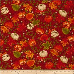 Moda Welcome Fall Gatherings Berry Red