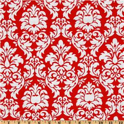 Michael Miller Dandy Damask Rouge Fabric