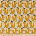 Seven Islands Foxes Cotton/Linen Blend Yellow