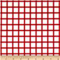 Wee Play Plaid Red