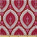 Amy Butler Alchemy Organic Imperial Paisley Ruby