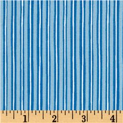 Maywood Studio Kimberbell Basics Little Stripe Blue