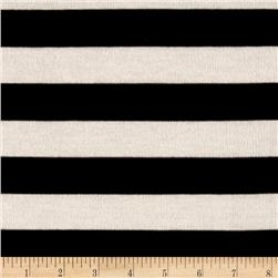 Sweater Knit Stripe Black