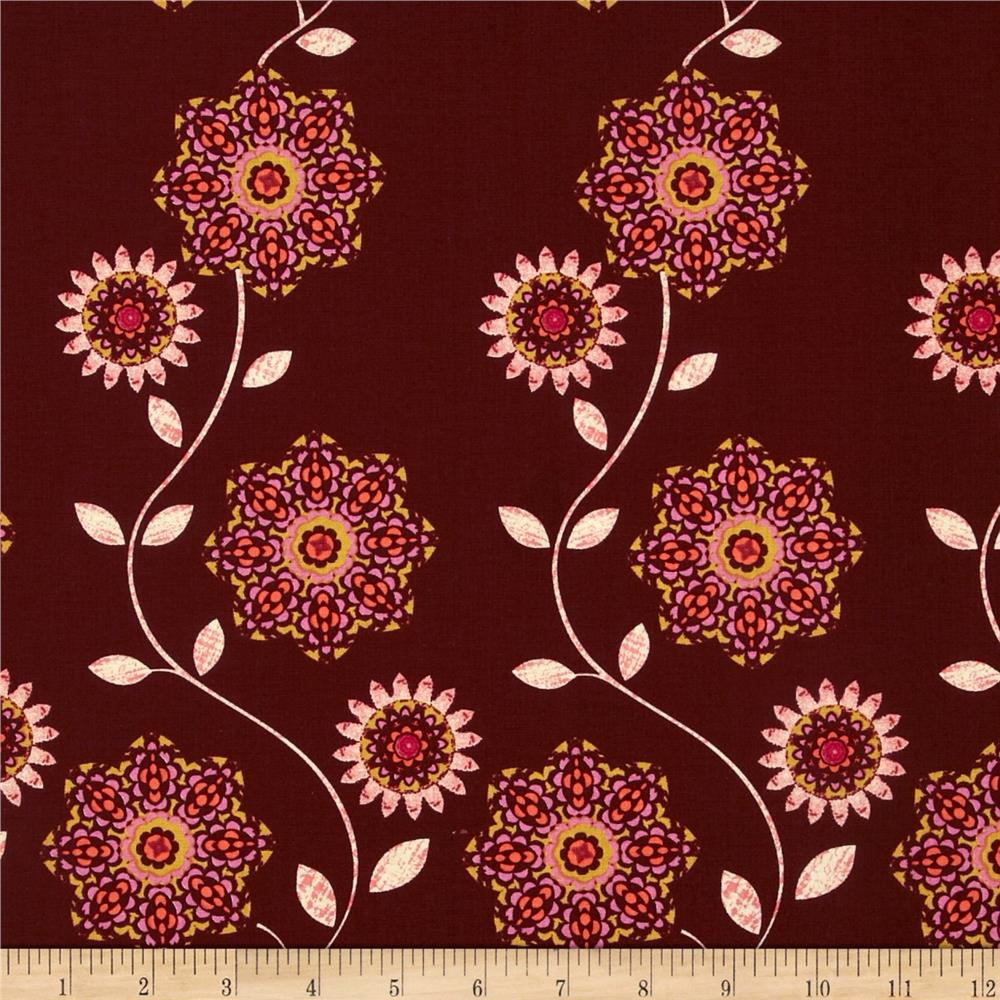 Ty Pennington Impressions 2012 Flora Sunset Purple