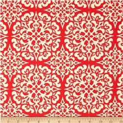 Heather Bailey Ginger Snap Snowflake Red