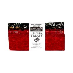 "Timeless Treasures Tonga Batik Rose 10"" Squares Half Pack"