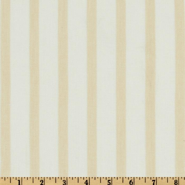 P Kaufmann Linet Natural Linen Blend Sheers Sand