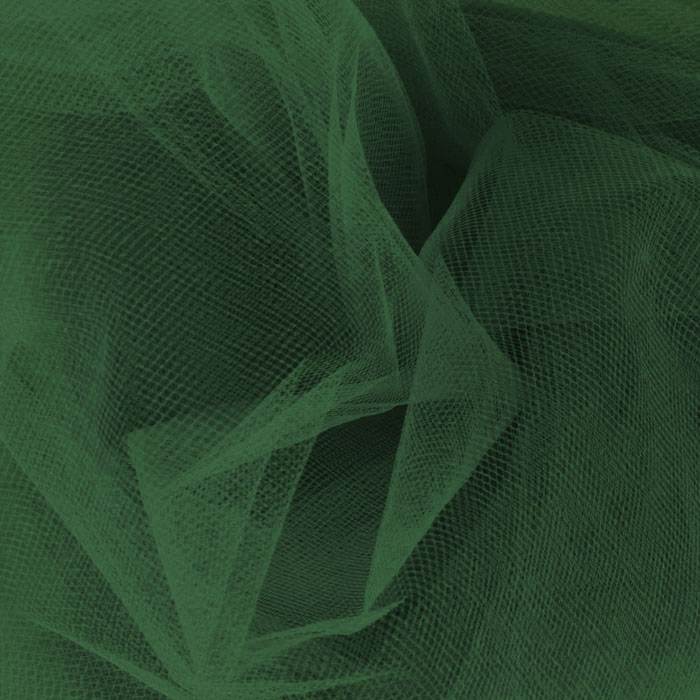 Image of 54' Wide Tulle Emerald Fabric