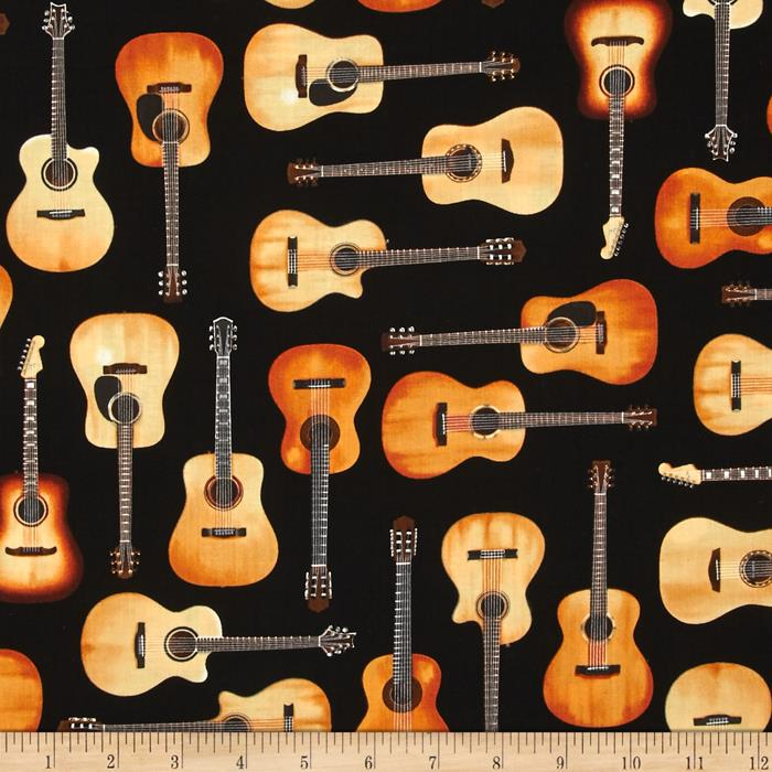Kaufman In Tune Acoustic Guitars Black