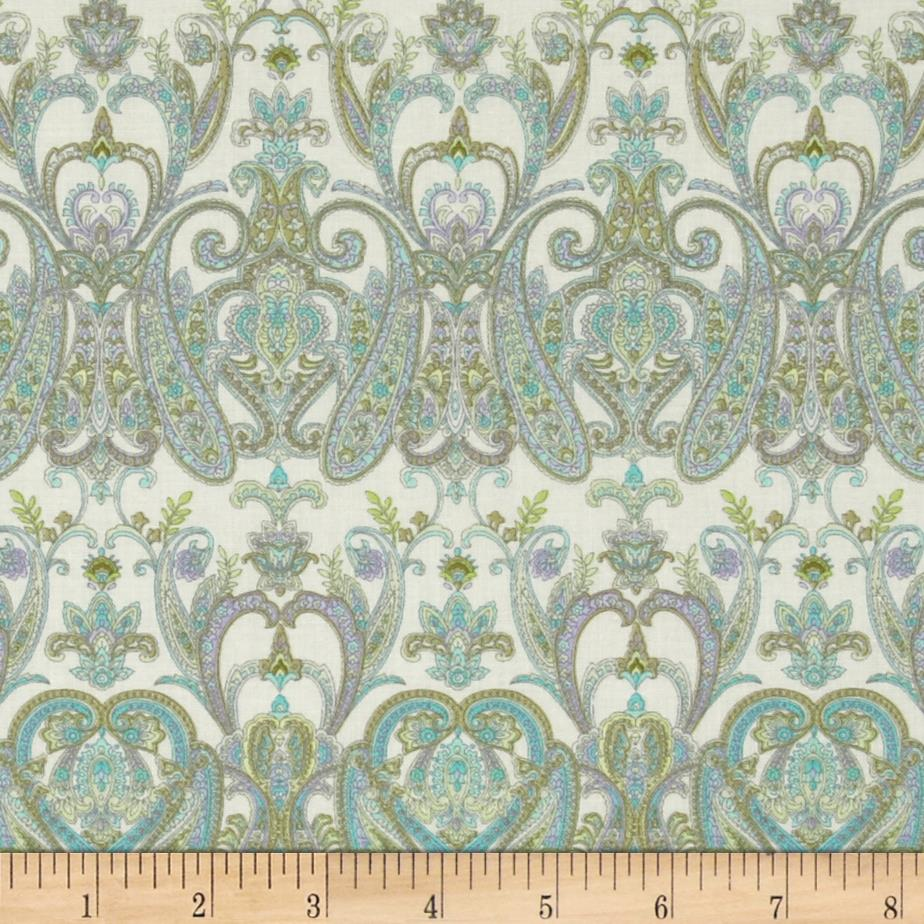Briarcliff Paisley Motifs Cream