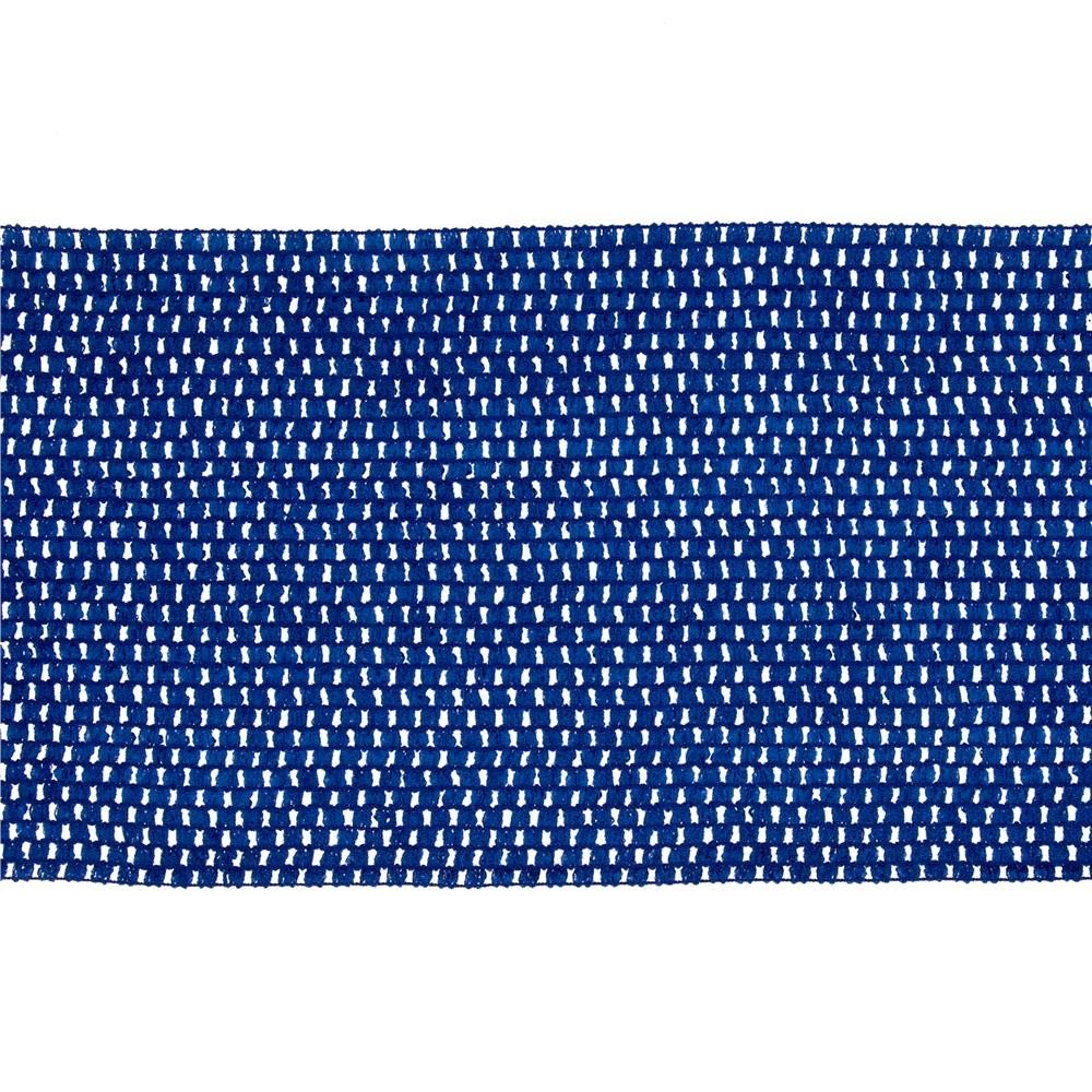 "9"" Crochet Headband Trim Royal Blue"