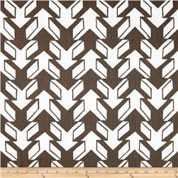 Premier Prints Nano Drew Slub Italian Brown Fabric