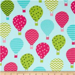 Urban Flotologie Flannel Hot Air Balloons Sorbet