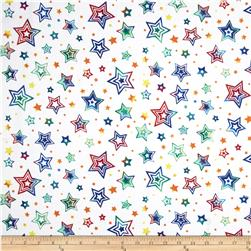 Party On Stars White
