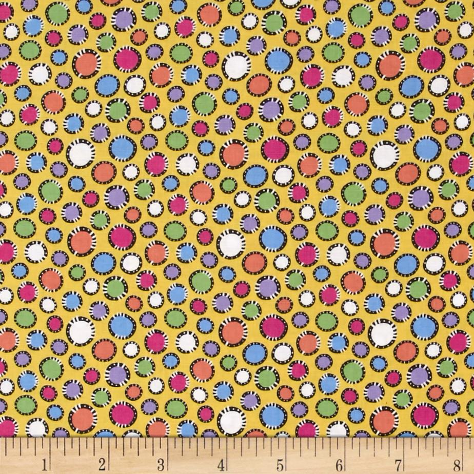 Koot Kats Dots Yellow/Multi