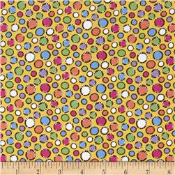 Kool Kats Dots Yellow/Multi