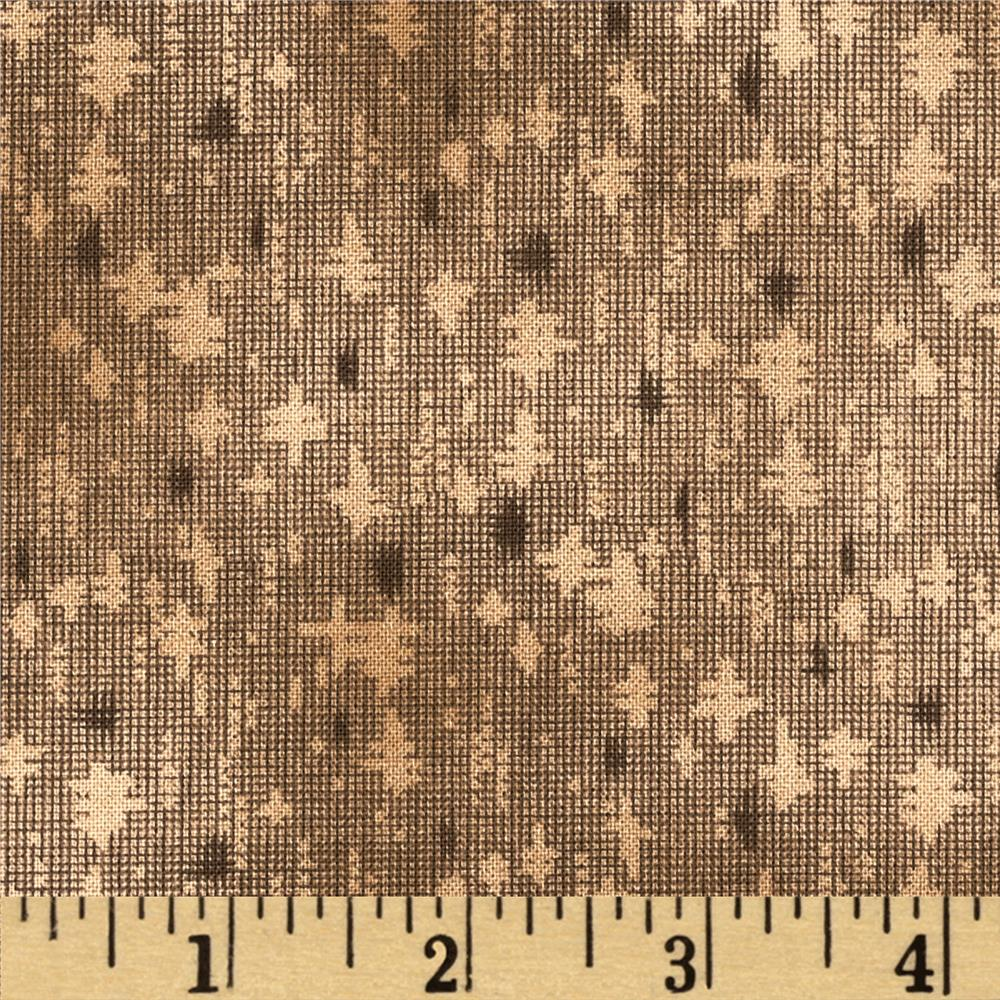 Jeanne Horton The Settlement Collection Cross Texture Brown