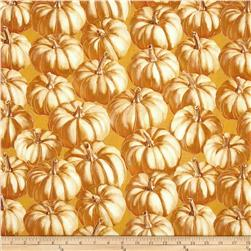 Autumn Fauna Pumpkin Gold
