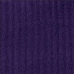 Kaufman 21 Wale Corduroy Purple Fabric