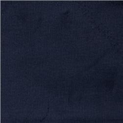 Kaufman Stretch 21 Wale Corduroy Navy Fabric