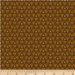 Judie's Album Quilt Geo Abstract Gold