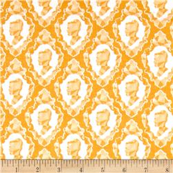 Riley Blake Ardently Austen Silhouette Yellow