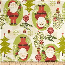 Woodland Christmas Santa Cream