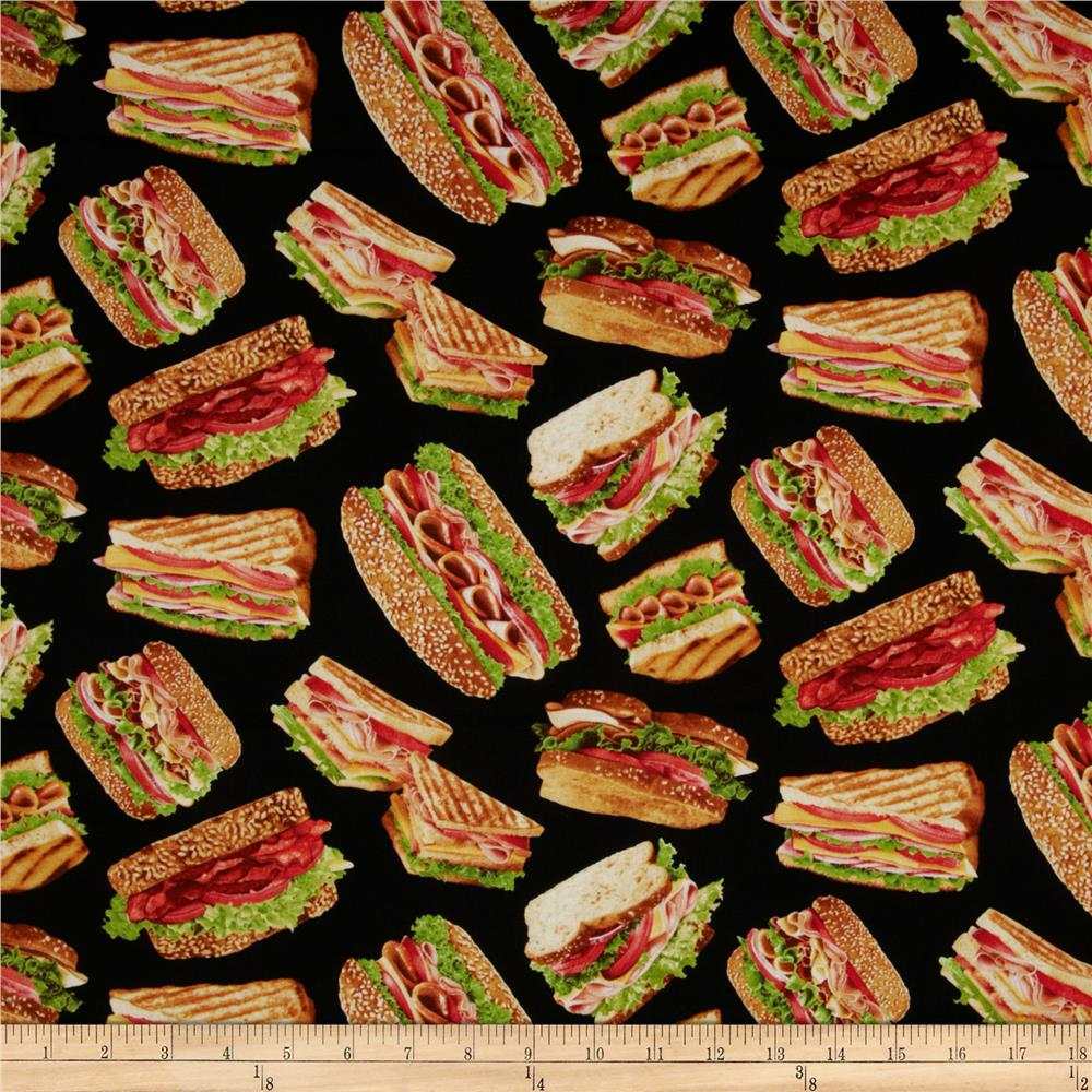 Got The Munchies? Sandwiches Black