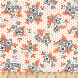 Moda Sweet Marion Dotty Garden Peach/Cloud