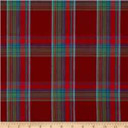 Winter Games Large Woven Yarn Dyed Plaid Red