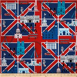 Kanvas Britian's Best Union Jack Scenic Red/Blue
