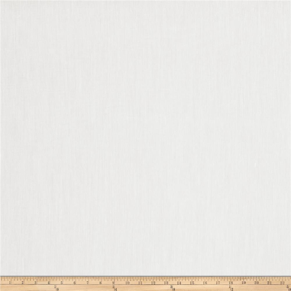 Fabricut Frosted 118'' Sheer White