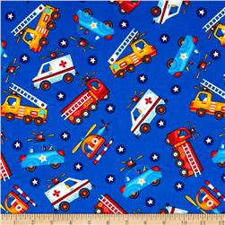 Be My Hero Tossed Rescue Vehicles Dark Blue