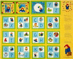 Paddington's ABC's Soft Book Panel Yellow