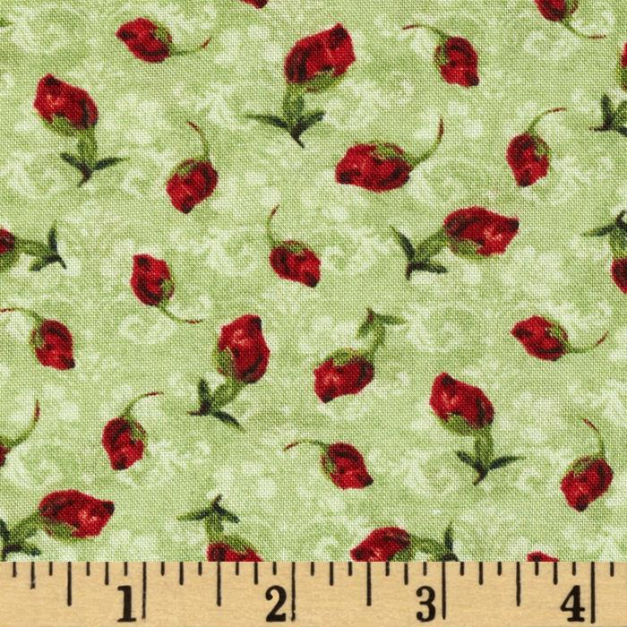 Scentimental Rose Bud Green