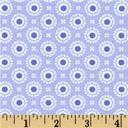 Moda Hi De Ho Fancy Dots Tonal Purple