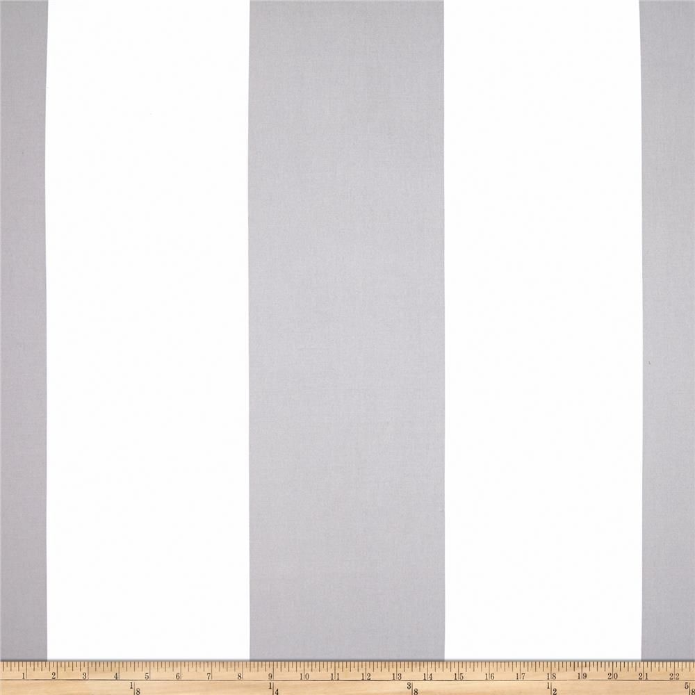 Michael Miller Bekko Home Decor Wide Stripe Slate Grey