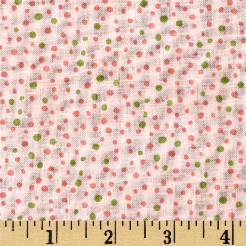 Essentials Petite Dot Pink Green