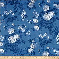 Robert Allen Promo Seaport Floral Harbor Blue