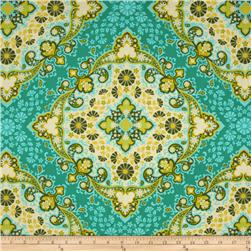Joel Dewberry Notting Hill Kaleidoscope Basil Fabric
