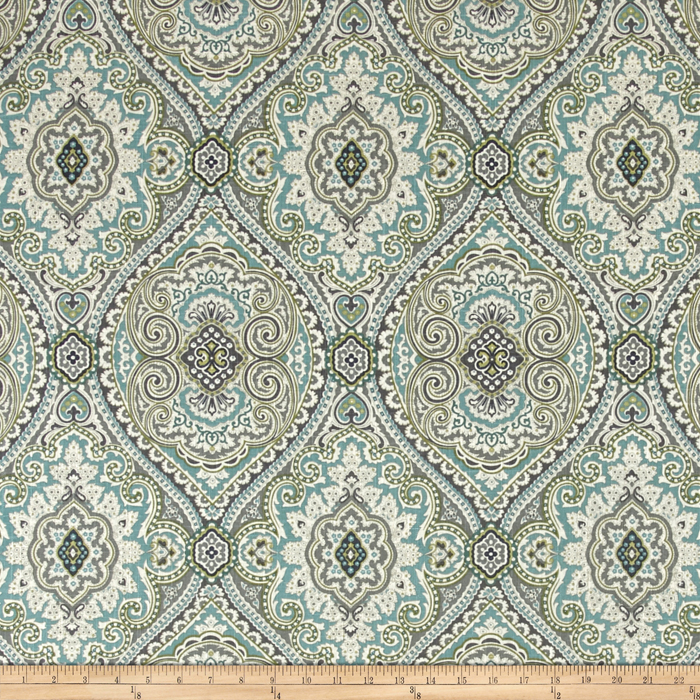 Swavelle/Mill Creek Purana Damask Breeze Fabric by Swavelle Mill Creek in USA