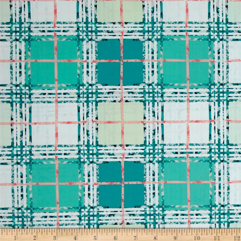 Art Gallery Lavish Trellis Plaid Fresh