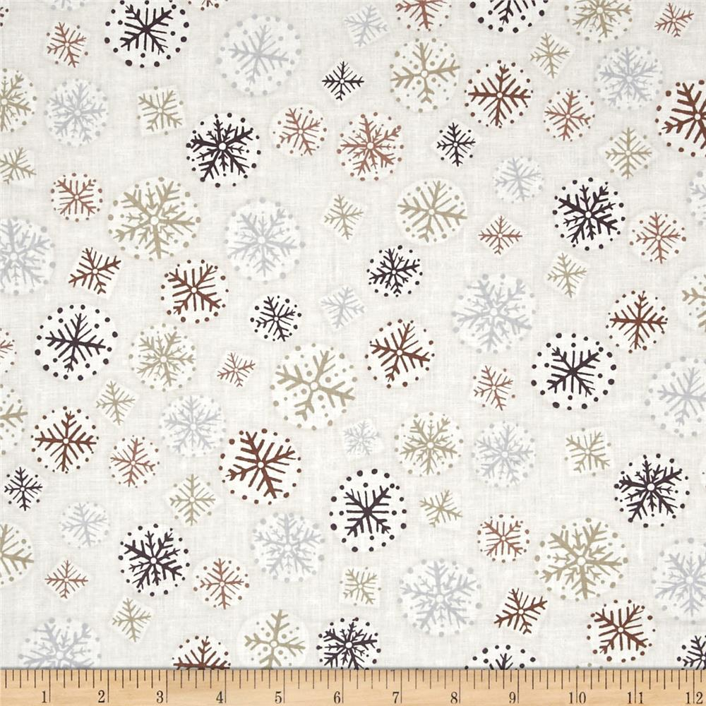 Kanvas Shades of Winter Winter Flurries Cream