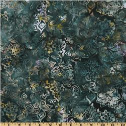 Bali Batiks Stylized Floral Sea Holly